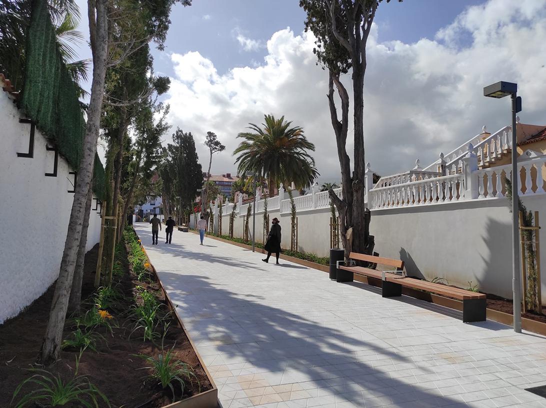 Paseo Agatha Christie, Puerto de la Cruz